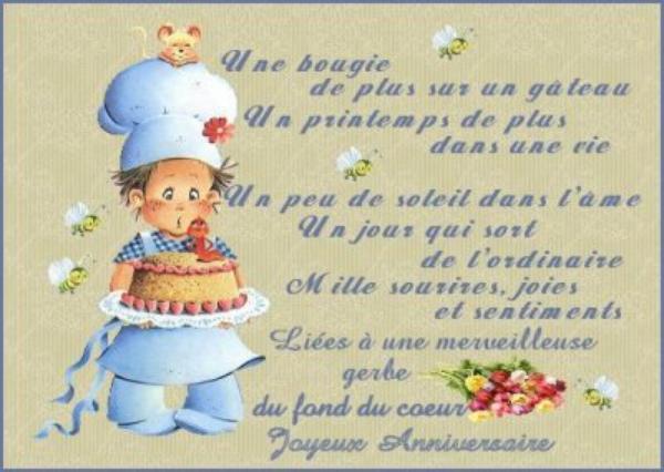 Pour Mon Amie Joyeux Anniversaire Elise Blog De