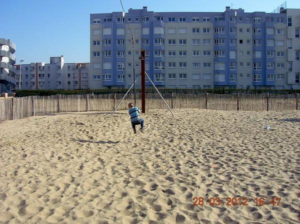 premiers moments de plage avec rodrigue