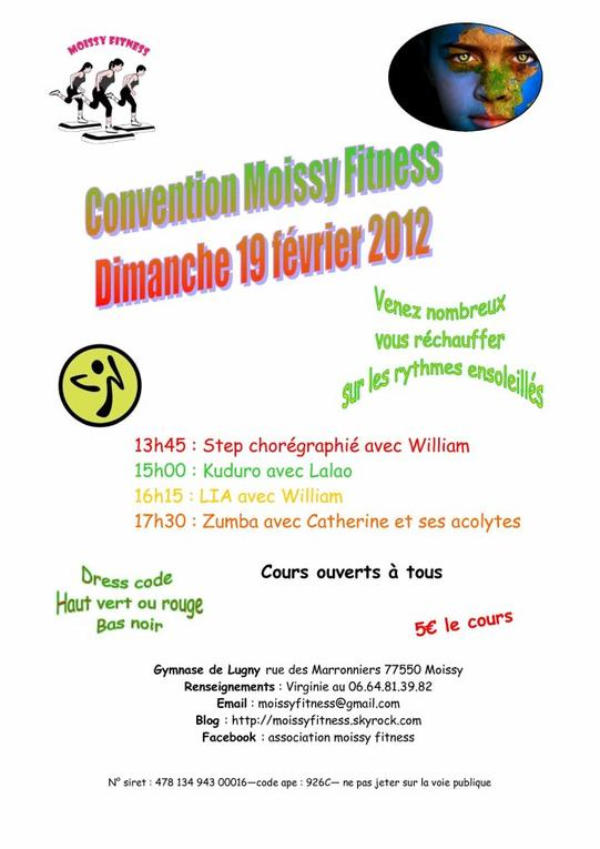 CONVENTION DU 19 FEVRIER 2012