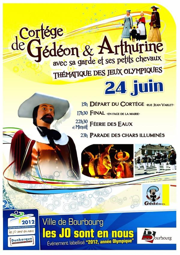 la fanfare à bourbourg ce 24 juin 2012