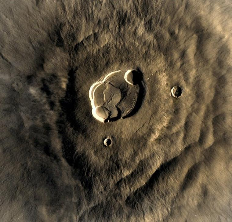 Olympus Mons (Mont Olympe)