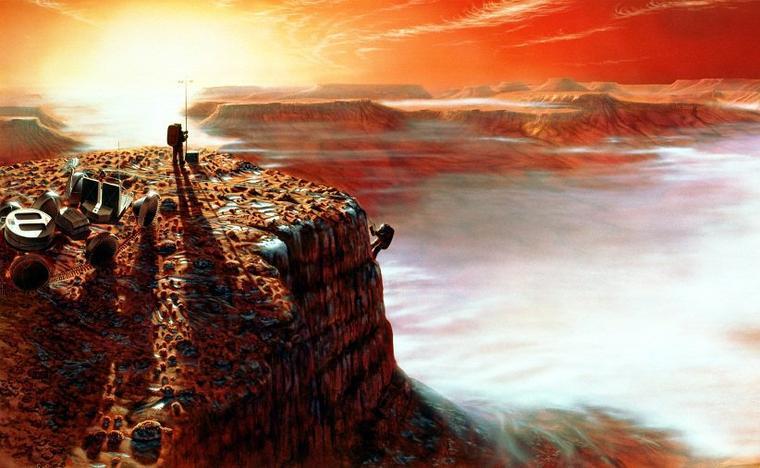 Mission habitée vers Mars