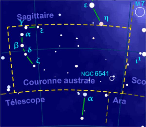 Couronne australe = Corona Australis