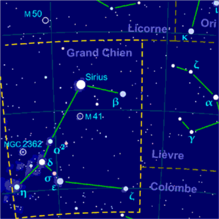 Grand chien = Canis Major