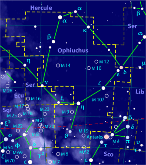 Ophiuchus (Serpentaire)