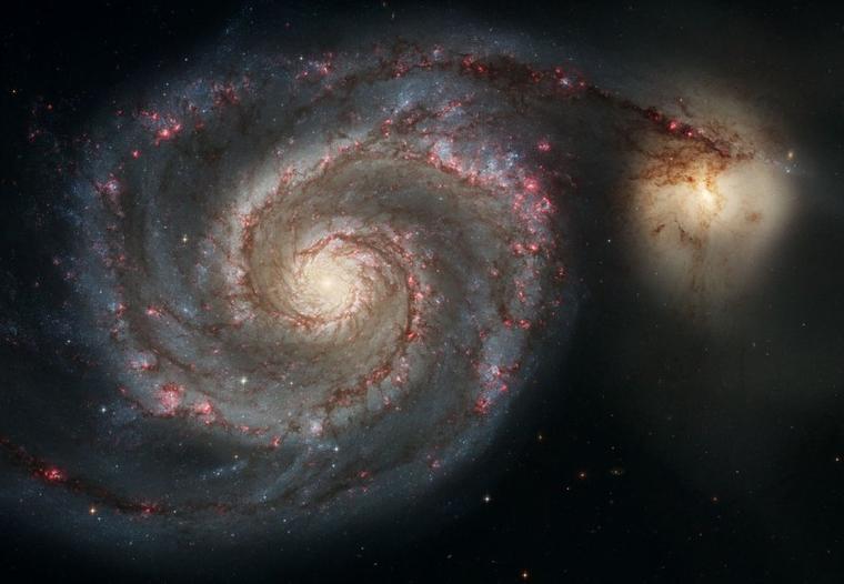 Galaxie du Tourbillon M51 = Whirlpool Galaxy