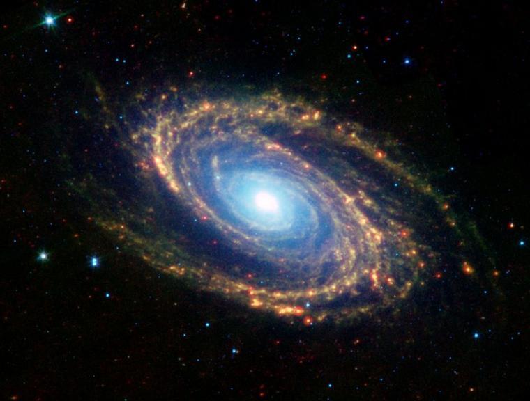 Galaxie de la Grande Ourse M81 = NGC 3031 = Bode's Galaxy