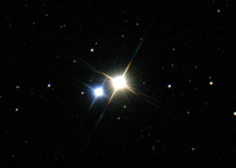 Albireo du Cygne = β Cyg = β Cygni = Beta Cygni