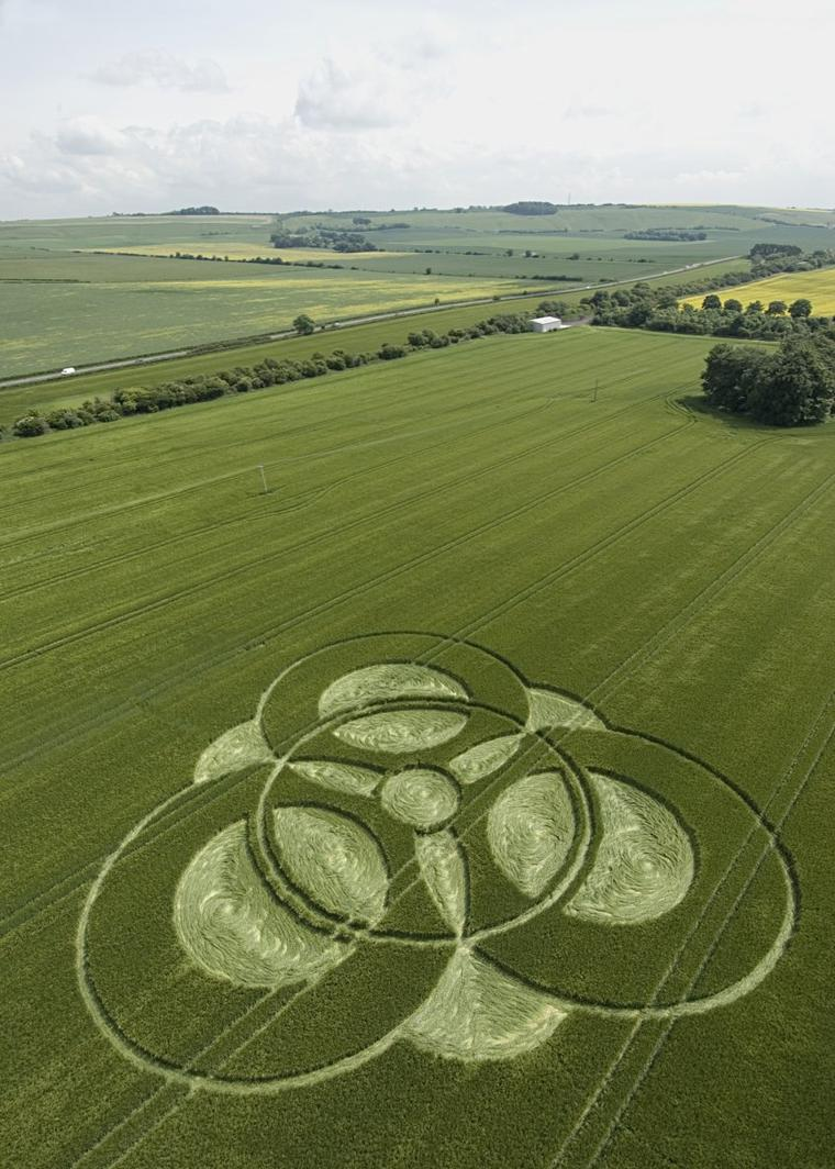 Cercle de culture = Cercle de récolte = Crop Circle