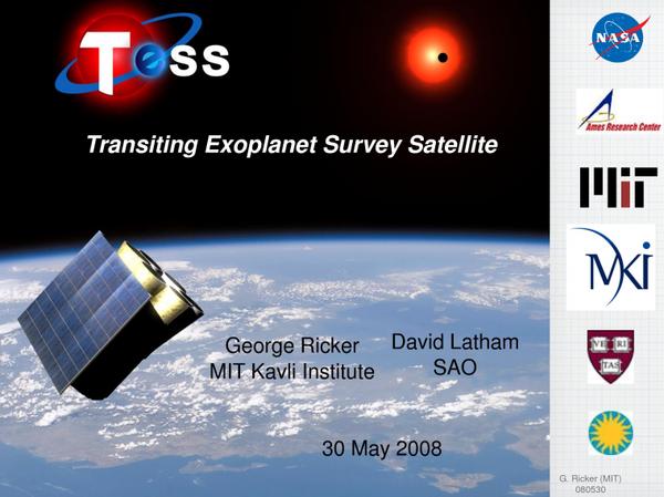 TESS = Transiting Exoplanet Survey Satellite