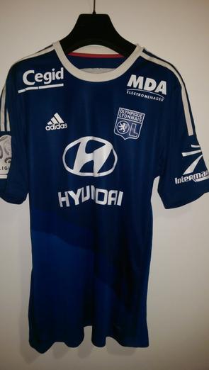 maillot Lyon 2014 - 2015 extérieur