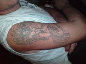 les deux tattoo a mon pere