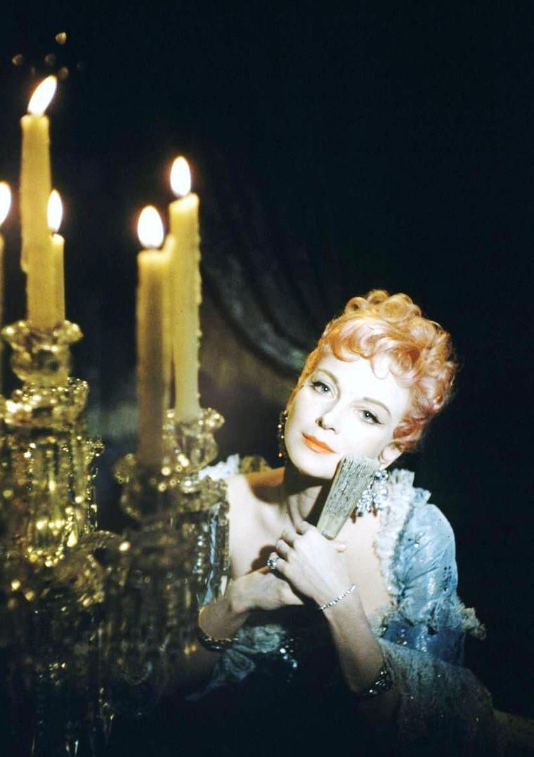 Joan GREENWOOD en 1954 vue par George SILK.