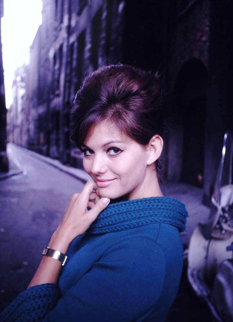 Claudia CARDINALE vue par Paul SCHUTZER.