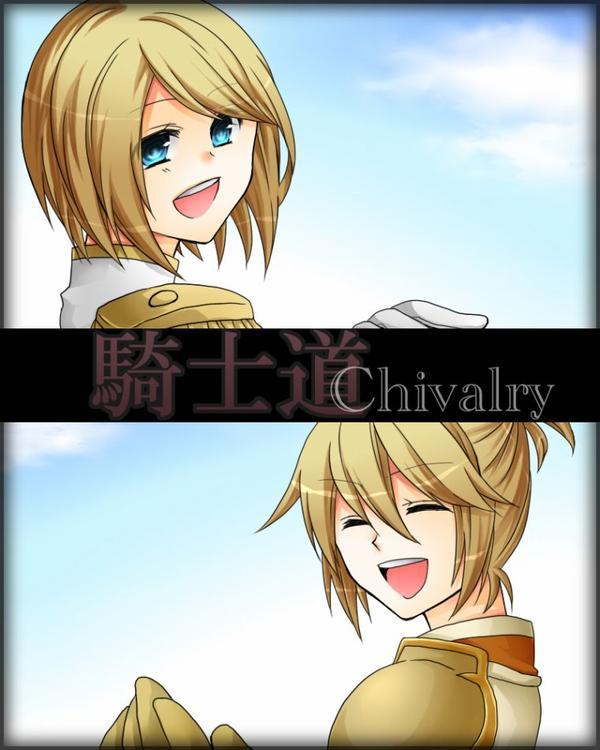 Chivalry- Rin and Len *Vocaloïd*