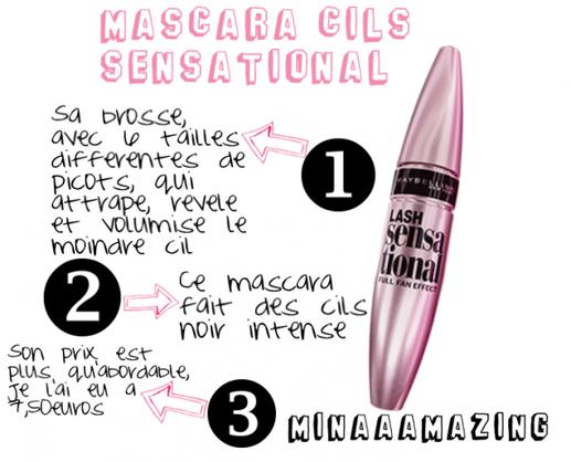 REVUE ♥ Mascara Cils Sensational ! ◄