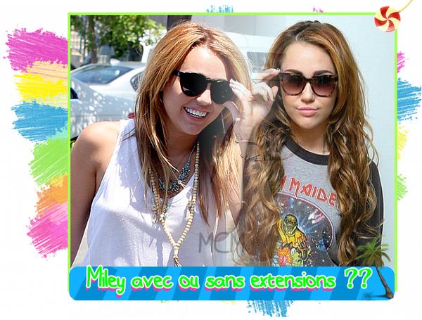 Miley allant s'acheter unHot Dog le 13 juillet et à l'aéroport de LAX le 15 juillet !!!!