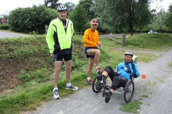 Dimanche 17 Juin 2012: 31eme étape ARGENTRE-SACE  soit 21,13 km  soit depuis le départ 845km