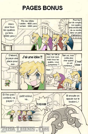 Pages Bonus ! (manga Four Swords Adventures)