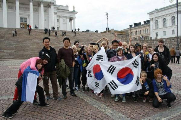 SUPER JUNIOR FINLAND- FLASHMOB IN HELSINKI!!!
