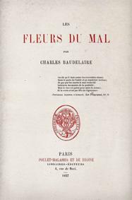 Les Fleurs du Mal de Baudelaire - 1857
