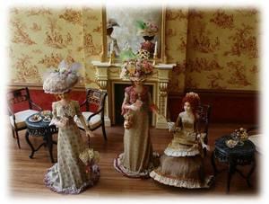pour celles qui aiment ... les poupées de Porcelaine !