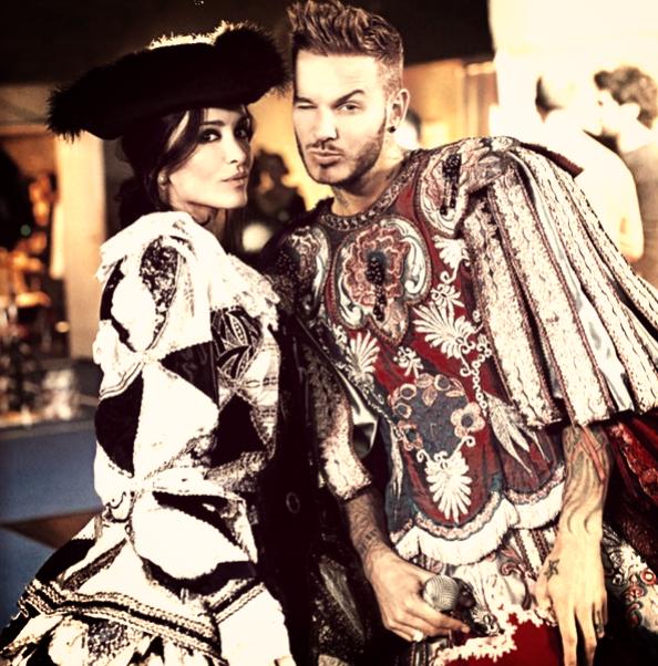 Matt Pokora et Jenifer, dans les coulisses du Bal des Enfoirés. ♥