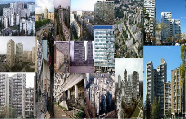 LE PLATEAU DE CLICHY/MONTFERMEIL: LES CITES DES BOSQUETS/LE CHENE POINTUE/PAMA/STAMU/LA FORESTIERE/L'AQUEDUC/ROMAIN ROLLAND/BOIS DU TEMPLE ETC...