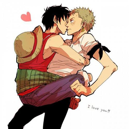 images de Zoro X Luffy pour Little-Miss-Harue-Chan :)
