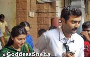 Sneha & Prasanna @ the Wedding of Rajan Madhav.