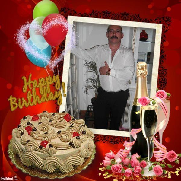 heureux anniversaire papa Jean Paul , une tonne de bisous rien que pour toi