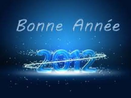 ;) meilleurs voeux 2012 ;)
