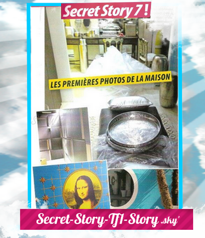 Premières Photos de la Maison des Secrets!