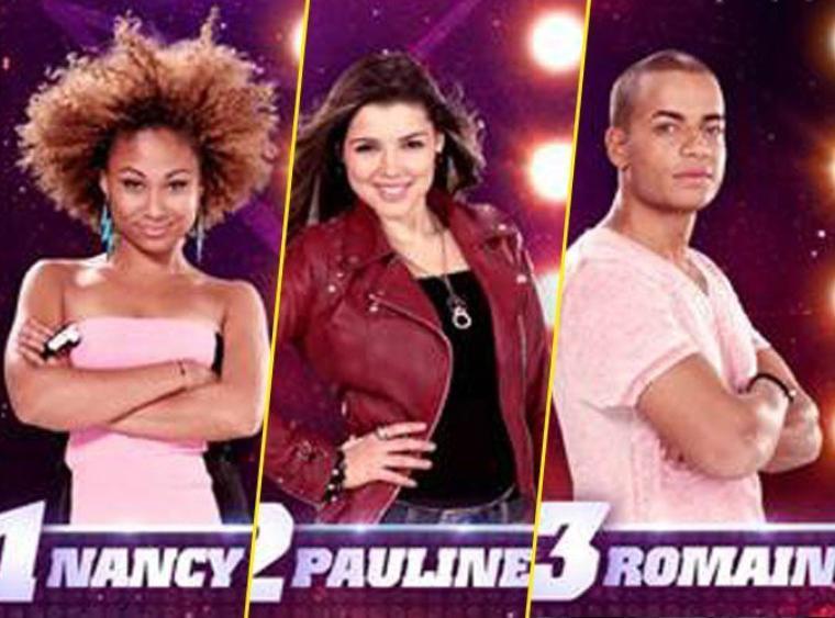 Les nominés sont Pauline, Nancy et Romain !!