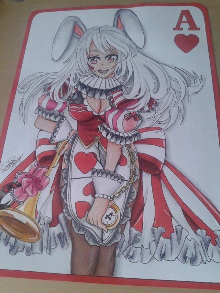 Dessin 230 • Alice la bunny girl