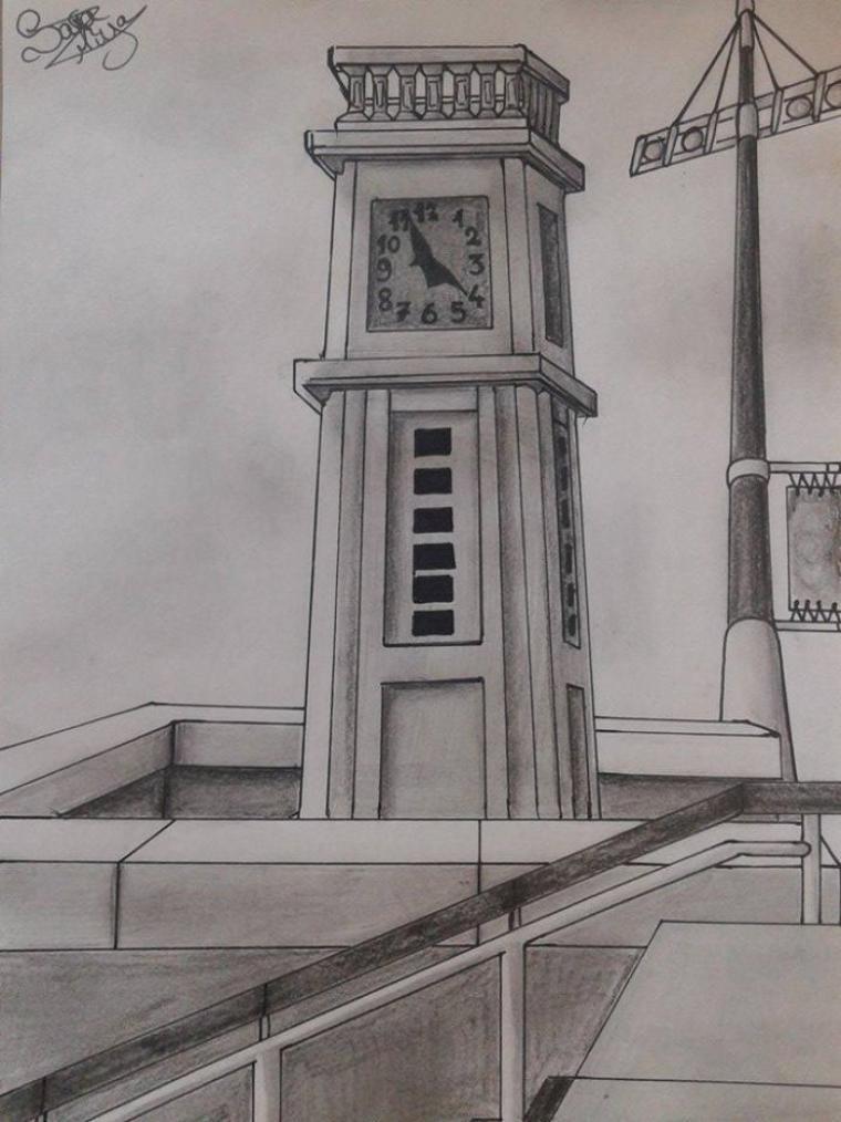 Dessin 235 • Horloge
