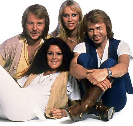Photo du jour : ABBA ♫