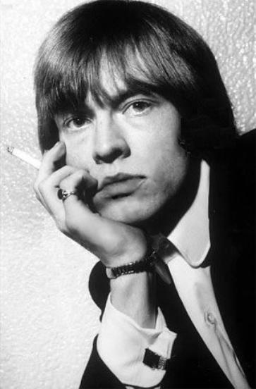 Le fondateur blond des Rolling Stones