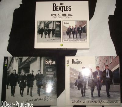 "Compilations des Beatles : ""Live At The BBC"", volumes 1 et 2. Let's go !"