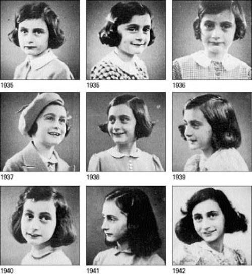 Photos d'Anne Frank