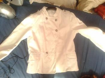 Blazer blanc #1