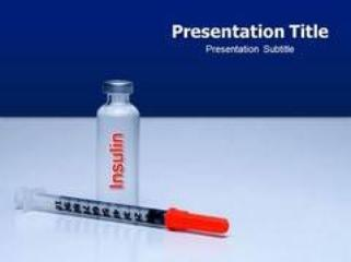 How much Effective is pre-designed Insulin PowerPoint Templates Background