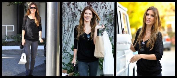 Audrina fait du shopping, le 31 janvier