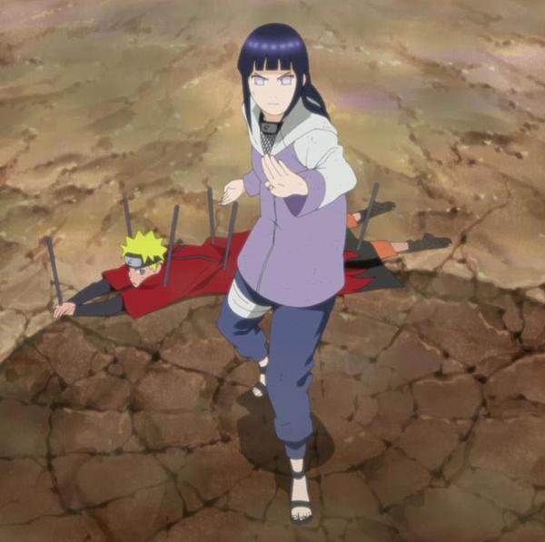 Le courage d'Hinata