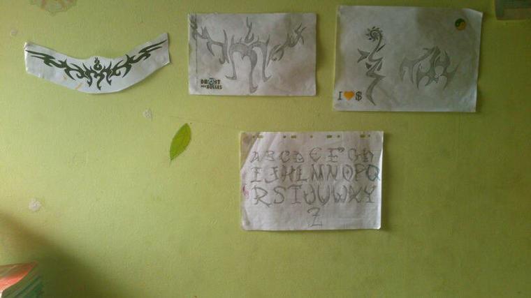 Le mur a dessin!!