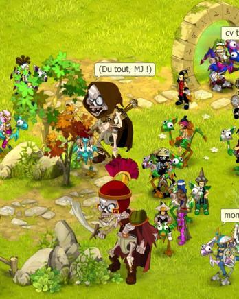 Un jour dans la guilde :)