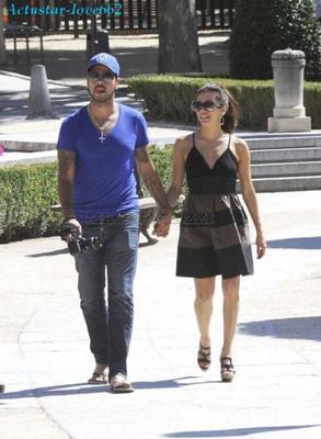 Eva Longoria et son petit ami Eduardo Cruz s'offrent une escapade romantique à Madrid !