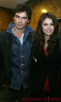 Vampire Diaries : Ian Somerhalder et Nina Dobrev en couple !