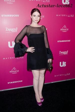 Michelle Trachtenberg est venue assister à la soirée US Weekly