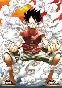 Luffy, personnage principal qui veut devenir le seigneur des pirates